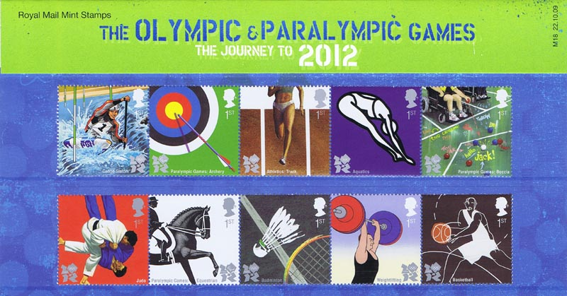 2009 GB - PP M18 - Olympic and Paralympic Games Pres Pack