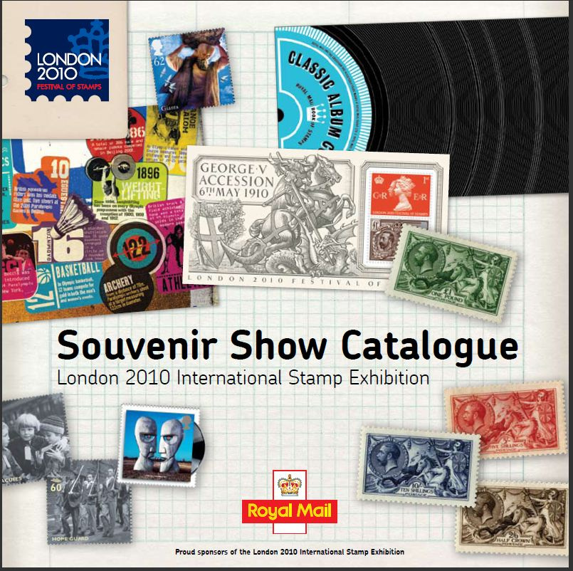 2010 GB - (London 2010) Royal Mail Souvenir Show Catalogue