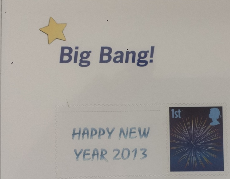 2013 GB - TS?? - Happy New Year LTD EDITION Smiler Top Corner BB