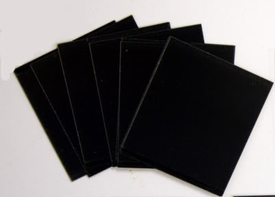 HAWID Style Cut 21 x 24 mm Black (S) x 10 packs of 50 (500)