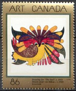 1993 CDN - SG1539 - 86¢ Canadian Art Set - 6th Series (1) MNH