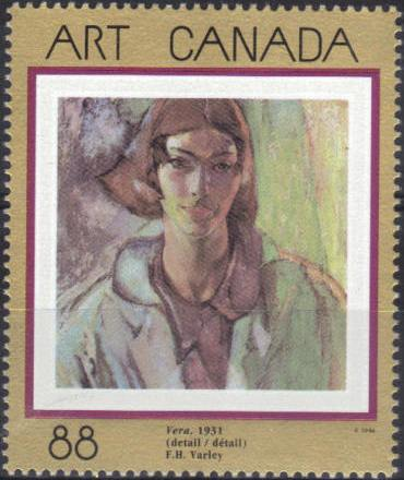 1994 CDN - SG1589 - 88¢ Canadian Art Set - 7th Series (1) MNH
