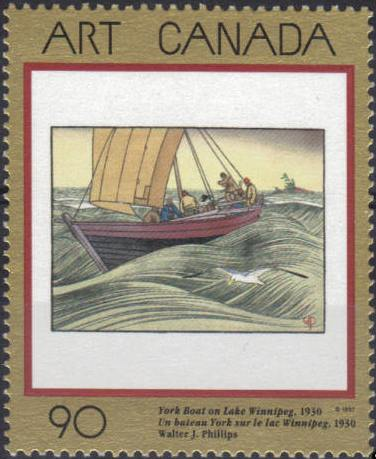 1997 CDN - SG1721 90¢ Canadian Art Set - 10th Series (1) MNH