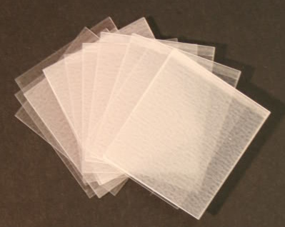 HAWID Style Cut 21 x 24 mm CLEAR (S) x 10 packs of 50 (500)