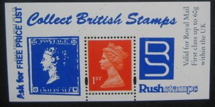 "1995 GB - Boots Label - London ""Collect Stamps"" (2d Blue) MNH"