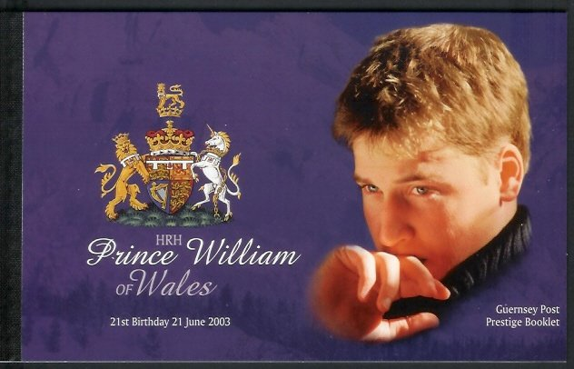 2003 GBG - SBG72 - 21st Birthday of Prince William of Wales (PB)