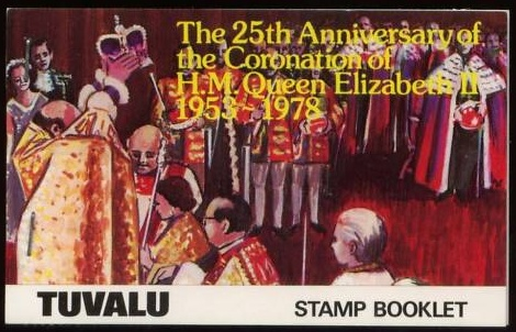 1978 Tuvalu - SGSB1 - 25th Anniv of Coronation Booklet