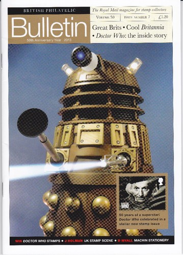 2013 GB - Royal Mail Philatelic Bulletin Volume 50 No 7 - Dr Who
