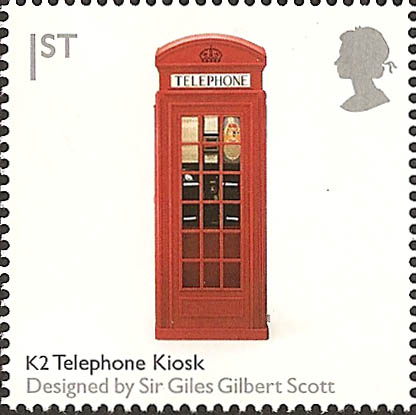 2009 GB - SG2892a Telephone Kiosk Gummed from PSB (DX44) MNH