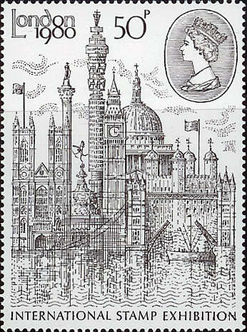 "1980 GB - SG1118 - ""London 1980"" Set (1) MNH"