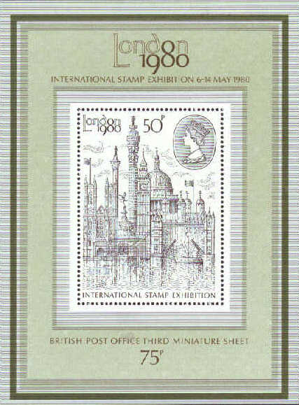 "1980 GB - MS1119 - ""London 1980"" International MNH"