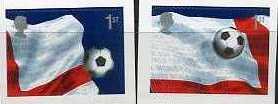 2002 GB - World Cup 1st Self-Adhesive Pair from PM6 VFU