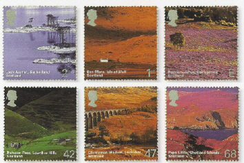 2003 GB - SG2385-90 A British Journey - Scotland Set (6) MNH