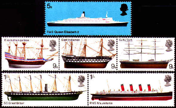 1969 GB - Ships Set (6) MM
