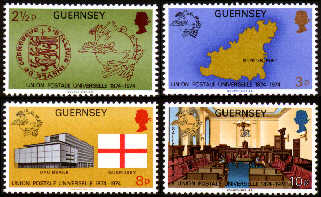 1974 Centenary of the Universal Postal Union Set (4) MNH