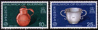 1976 Europa. Aretefacts Set (2) MNH