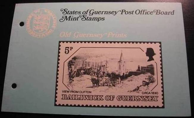 1978 Old Guernsey Prints P/P
