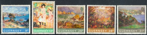 1983 Centenary of Renoir's Visit to Guernsey P/P