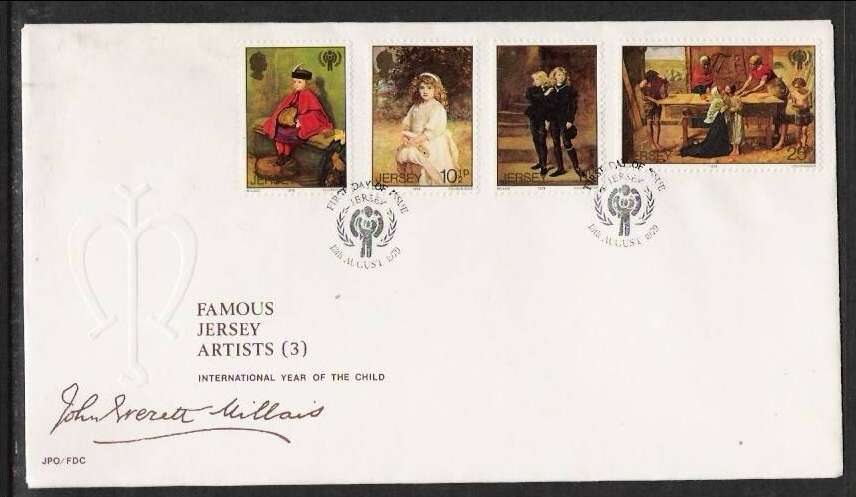 1979 Jersey International Year of the Child FDC