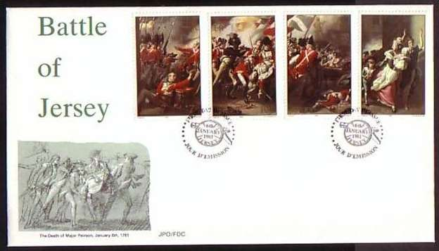 1981 Jersey Bicentenary of the Battle of Jersey FDC
