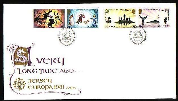 1981 Jersey Europa: Folklore FDC