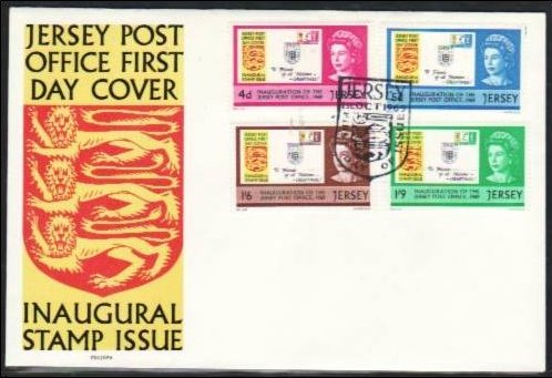 1969 Jersey Inauguration of the Post Office FDC (Addressed)