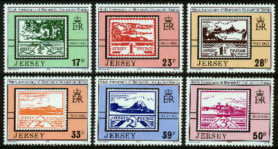 1993 Jersey 50th Anniv of Occupation Stamps Set (6) MNH