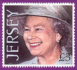 2001 Jersey £3 HM The Queen's 75th Birthday High Value MNH