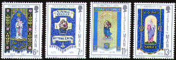 1976 IOM - Christmas Centenary of Mothers' Union Set (4) Used