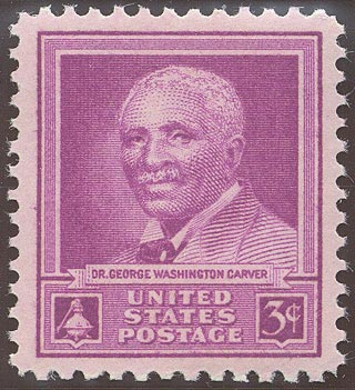 1948 US - Sc953 3¢ George Washington Carver MM