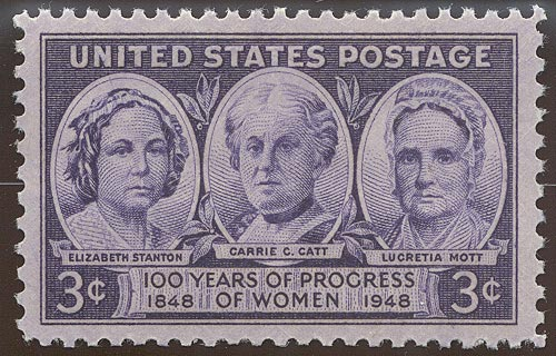 1948 US - Sc959 3¢ Progress of Women MNH