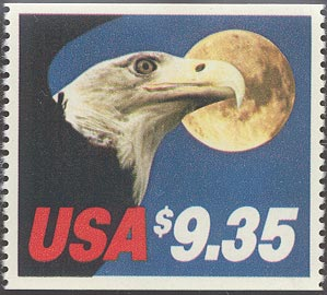 1983 US - Sc1909 $9.35 Eagle & Moon Single from Bklt MNH