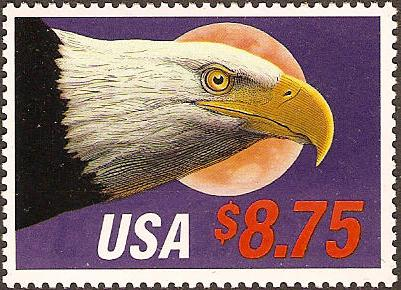 1988 US - Sc2394 $8.75 Eagle & Moon Express Mail VFU