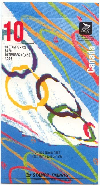 1992 CDN - BK146c (SB156) $4.20 Summer Olympics (red 10)