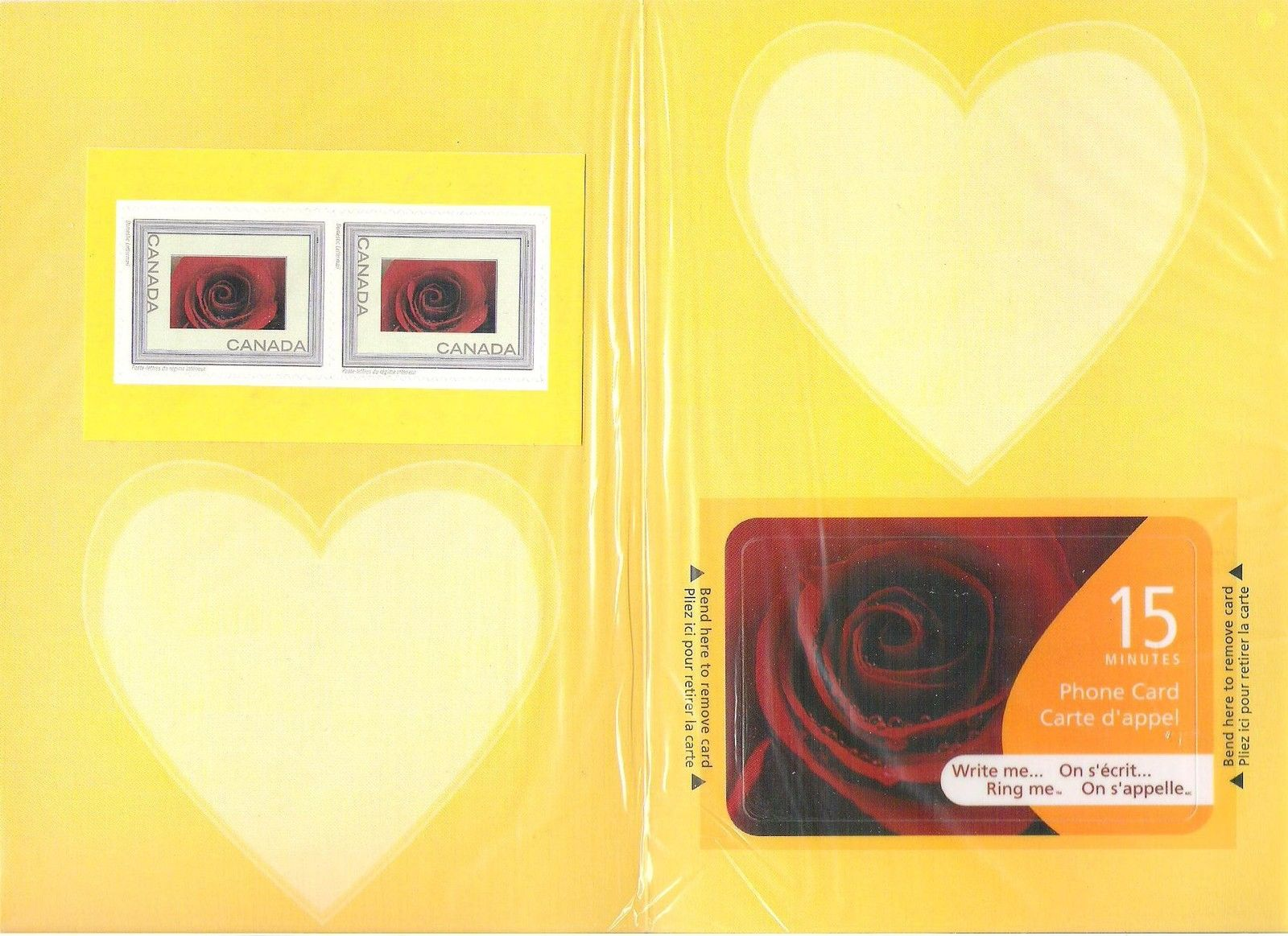 2004 CDN - Sc2047i Write Me Ring Me (Rose) Complete Card