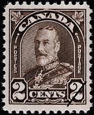 1931 CDN - SG292 2¢ deep brown GV Arch Issue MNH