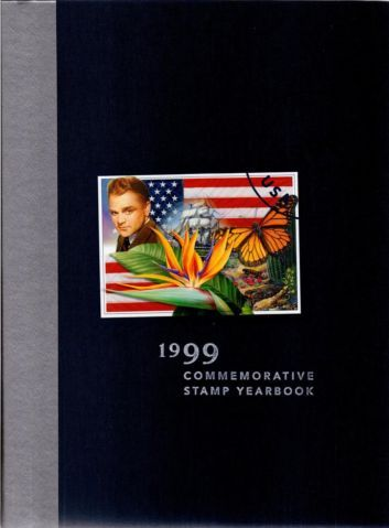 1999 US - BOOK - Commem Stamp Year Book / Cover / Sealed Stamps