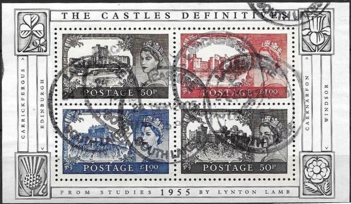 2005 GB - MS2530 - Anniversary of Castle Definitives MS FU