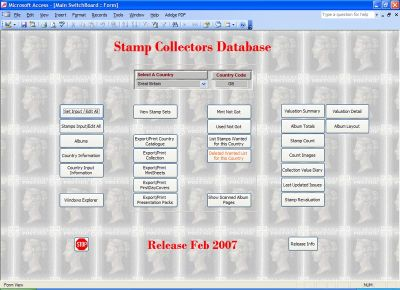 Stamp Database (Professional Edition) - UK Customers ONLY