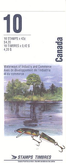 1992 CDN - BK145 (SB155) $4.20 Heritage Rivers (2nd Series)