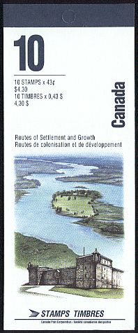 1993 CDN - BK161 (SB171) $4.30 Heritage Rivers (3rd Series)