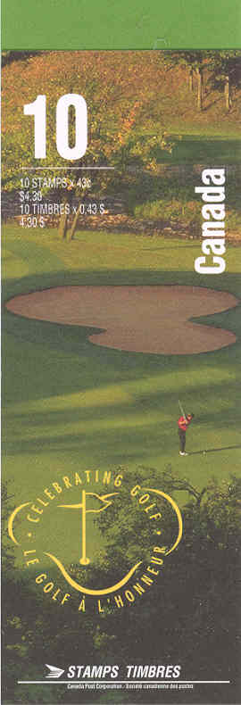 1995 CDN - BK176 (SB191) $4.30 Golf in Canada