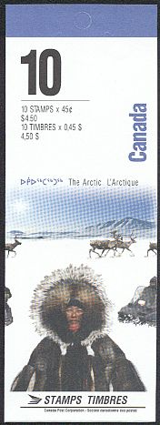 1995 CDN - BK184 (SB199) $4.50 Arctic Institute