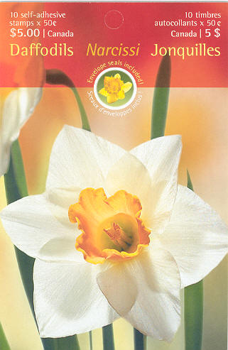 2005 CDN - BK308 (SBxxx) $5.00 Daffodils and Narcissus