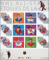 2003 CDN - NHL: All Star Game Players Set (6) MNH