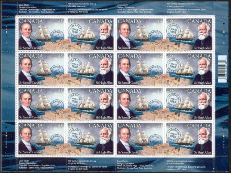 2004 CDN - SG2279-80 - Cunard and Allan
