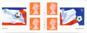 2002 GB - PM6a £1.62 - 6 x1st Class (W) World Cup -RB Inset CYL