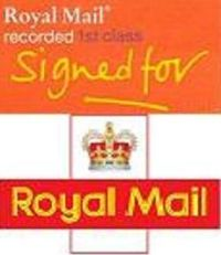 United Kingdom RECORDED/Signed For Delivery Charge