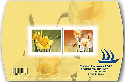 2005 CDN - SG MS2338 - Daffodils and Narcissus