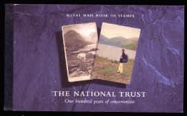 1995 GB - DX17 - The National Trust (£6)
